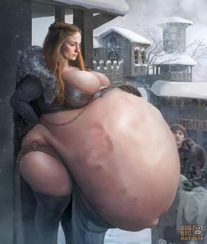 Hungry Sansa