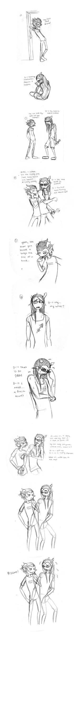 Comic-rough by Pluvicorn