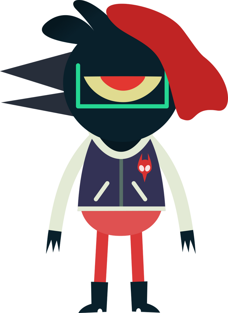 Crow OC in NITW style by TimsManter