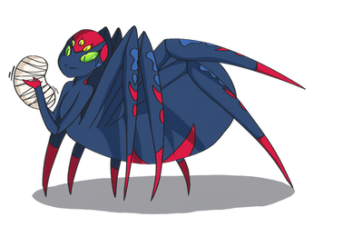 Arachniphilia: Black Widow by FistApology