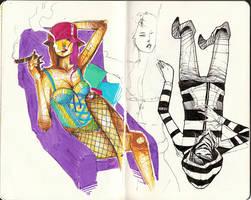 Sketchbook 003 by heycheri