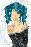 Sassy Geisha by heycheri