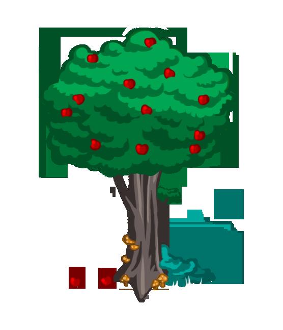 2D Game Art Test - Apple Tree