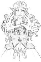 Puppet Zelda by heycheri