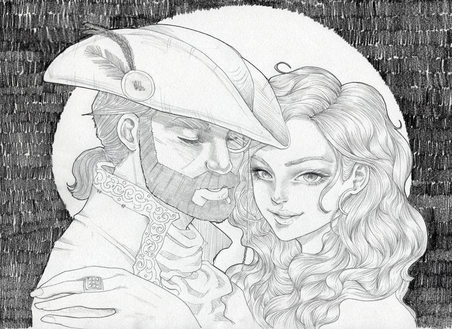Pirates in Love by heycheri