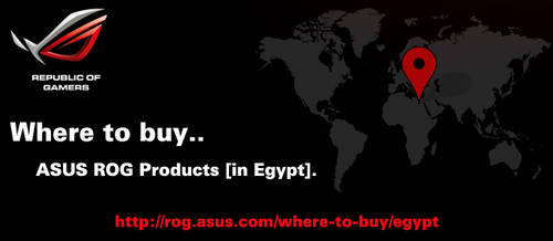 Where to Buy ASUS ROG Products in Egypt