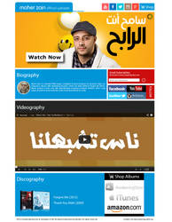 Maher Zain Beta Site by shadicasper