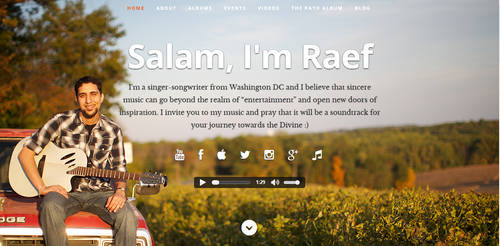 Raef Website by shadicasper