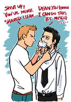 Beard(destiel) by SeanHe