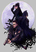 The Dark Knight Rises by SeanHe