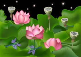 Lotus Garden 2 by desmo100