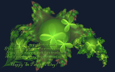 St Patricks Day Wish by desmo100