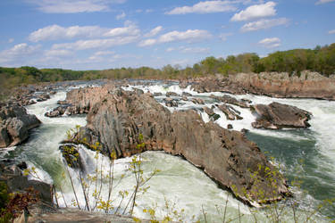 Springtime Potomac River by desmo100