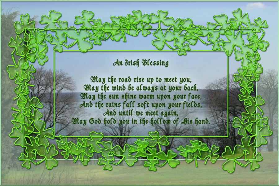 Irish Blessing For Wedding Rings