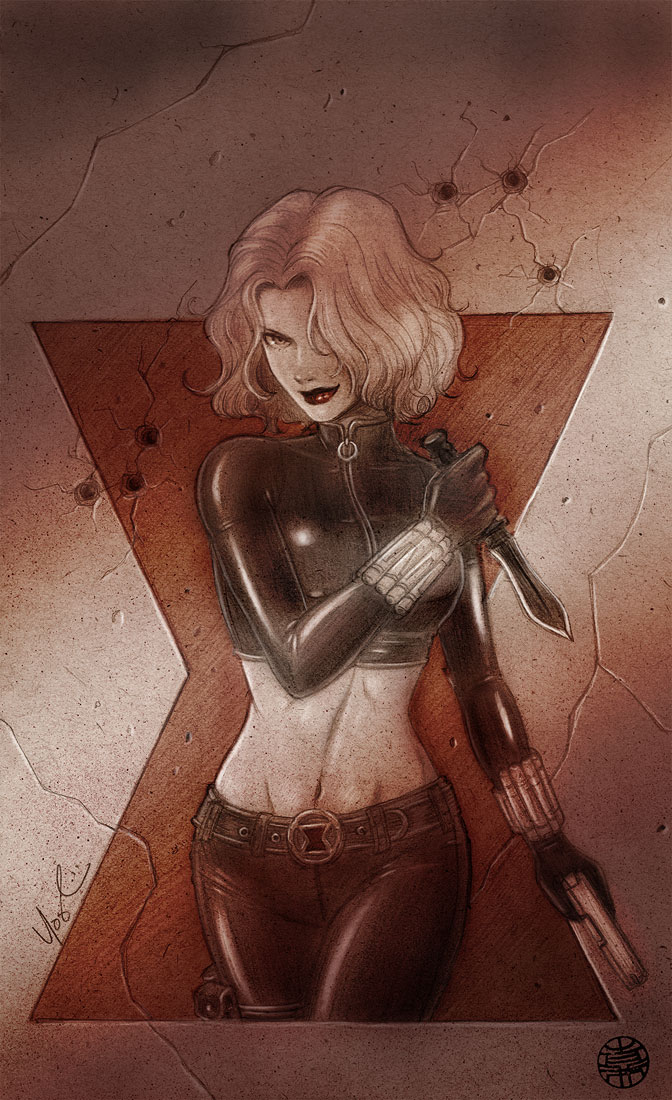 Black Widow 2 by Protokitty