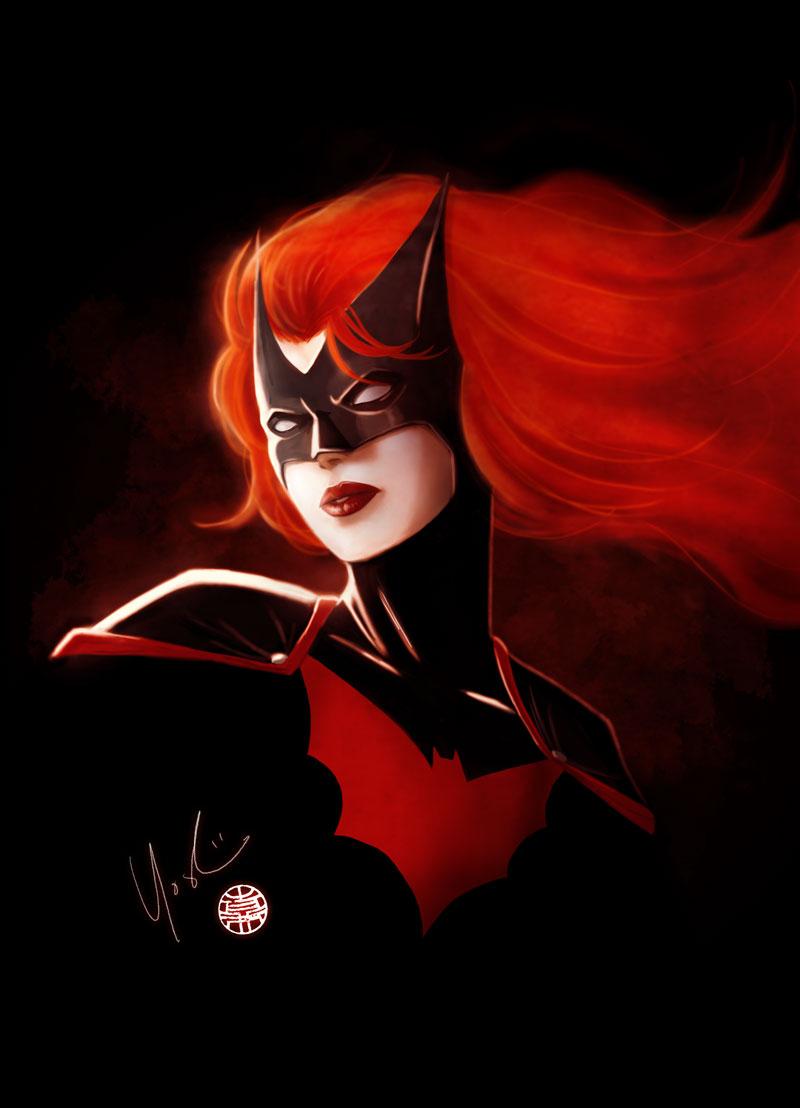Batwoman Portrait by Protokitty