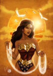 Wonder Woman Sunset
