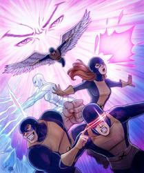 Original X-Men Colored by Protokitty