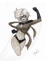 Classic Ms. Marvel by Protokitty