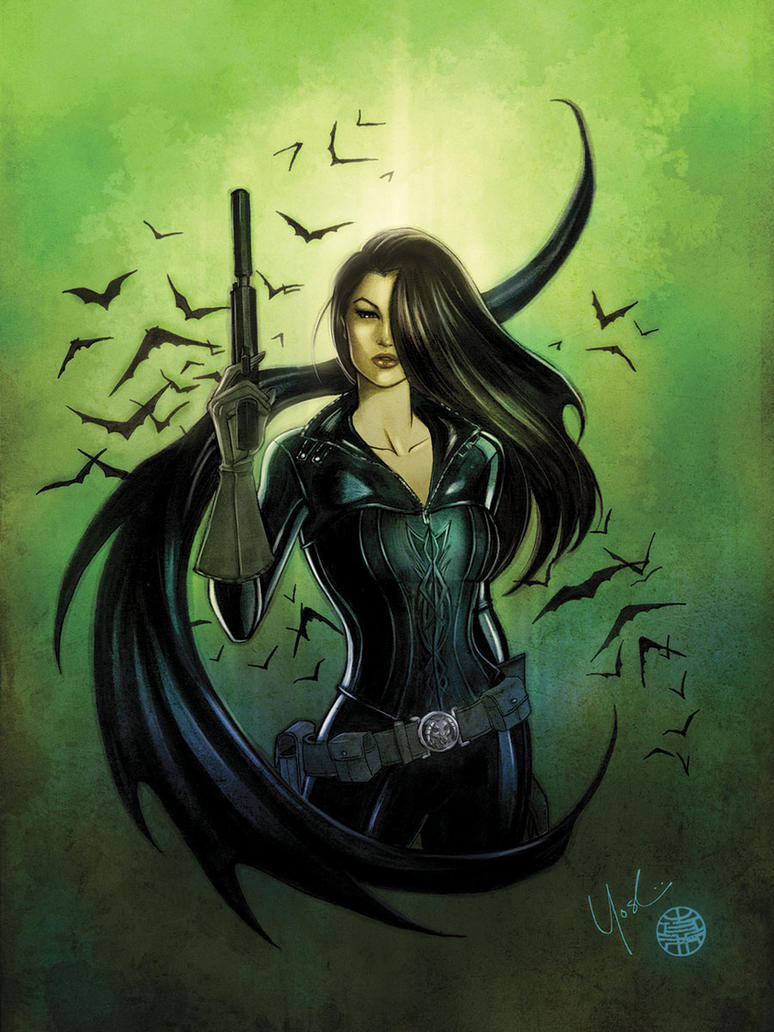 Talia al Ghul Color by Protokitty