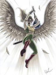 Hawkwoman by Protokitty