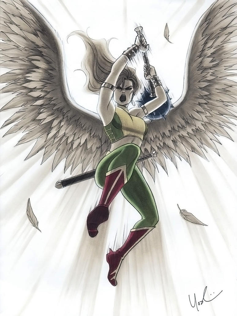 Hawkwoman by Protokitty