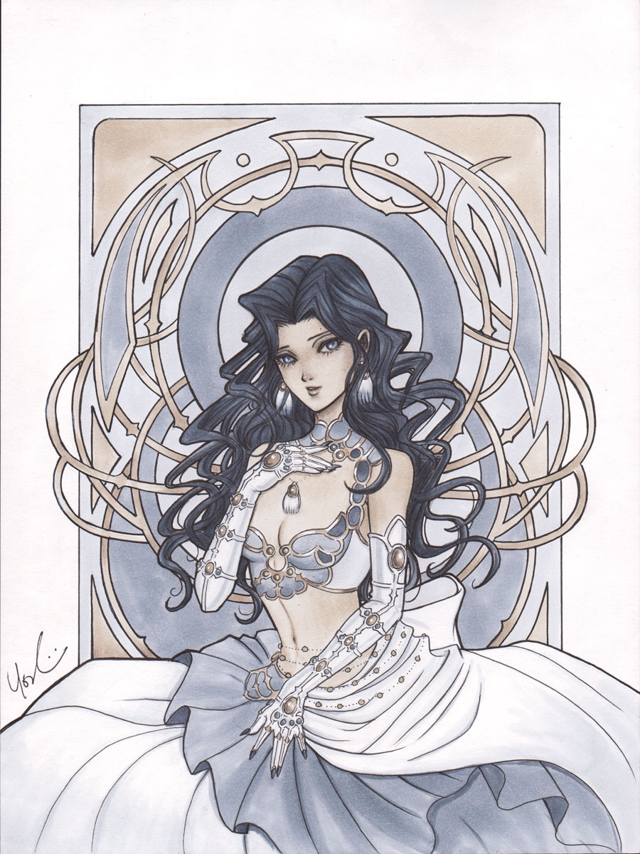 Trinity Blood Scheherazade by Protokitty