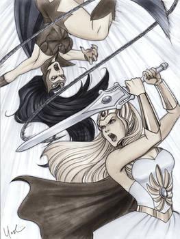 She-Ra vs. Cat-Ra