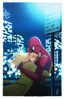 Spider-Man and Gwen Stacy Color by Protokitty