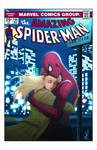 Spider-Man and Gwen Stacy Cover