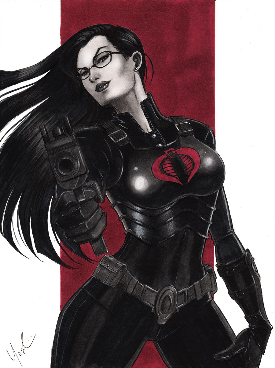 Baroness G.I. Joe by Protokitty