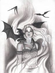 Game of Thrones Daenerys by Protokitty