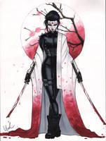 Kabuki Scarab by Protokitty