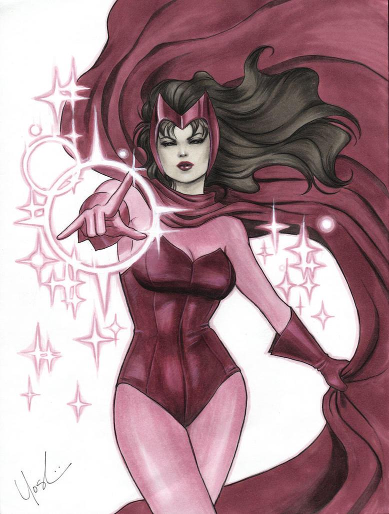 Scarlet Witch by Protokitty