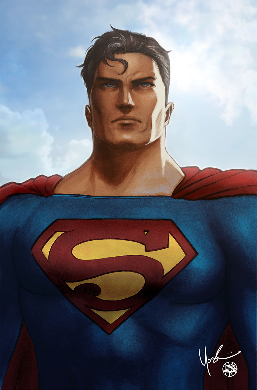 Superman Portrait by Protokitty