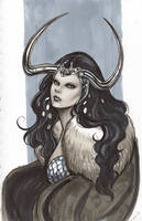 Lady Loki Sketch by Protokitty