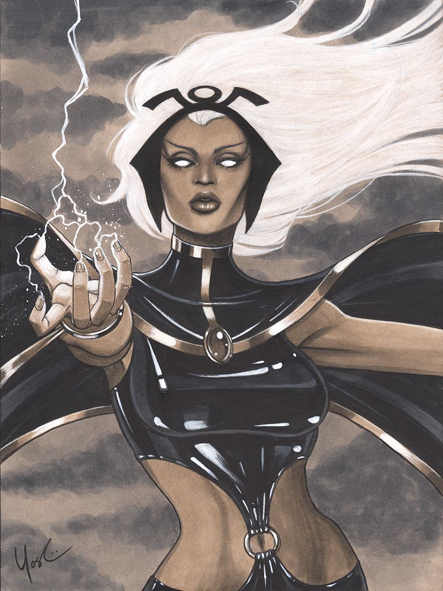 Storm Portrait 2013 NYCC Charity Auction by Protokitty