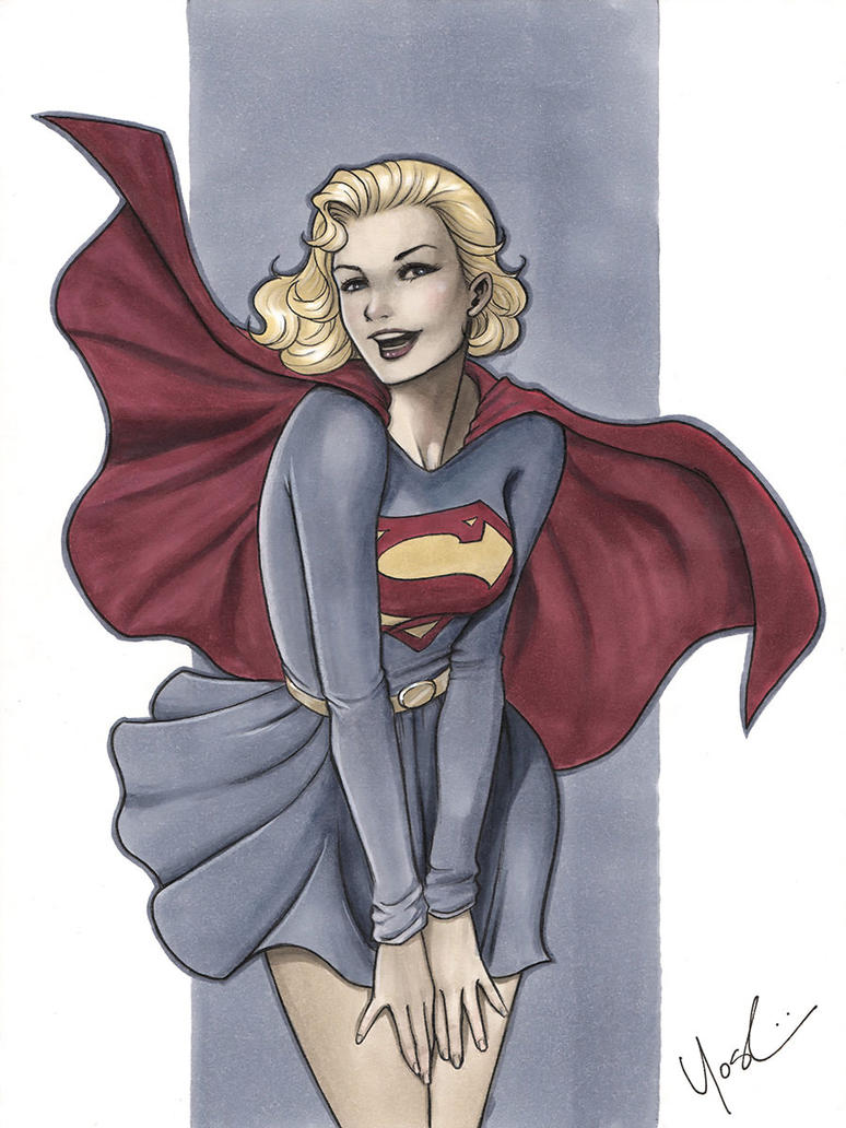 Silver Age Supergirl by Protokitty