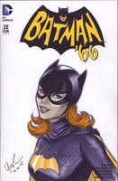 Batgirl '66 Commission by Protokitty