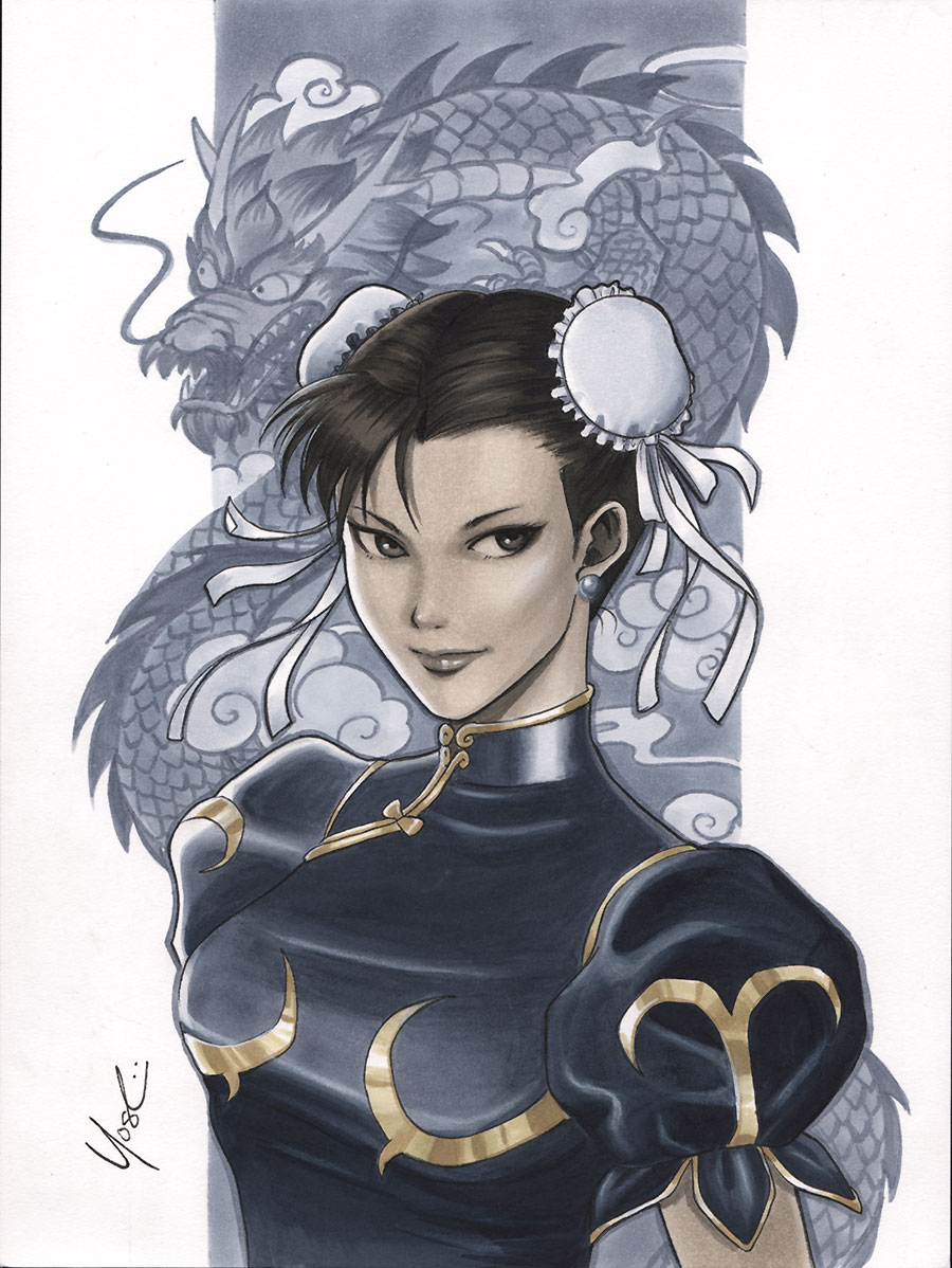 Chun Li by Protokitty