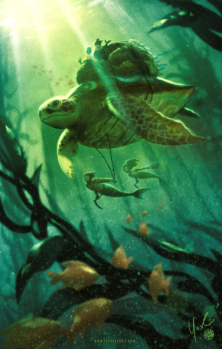 The Kelp Farmers by Protokitty