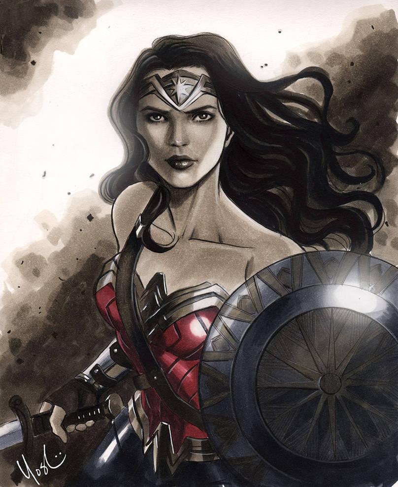 Wonder Woman Gal Gadot by Protokitty