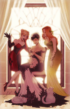 Cat Woman's Wedding Day Color