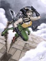 Hawkgirl DC Bombshells by Protokitty