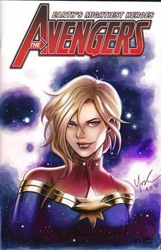 Captain Marvel Color