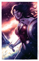 Wonder Woman 75th Anniversary Color by Protokitty