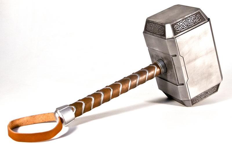 thor hammer mjolnir avengers version by pannaus on