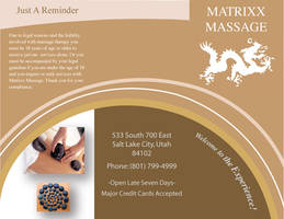 Massage Therapy Spa Brochure by danstosich