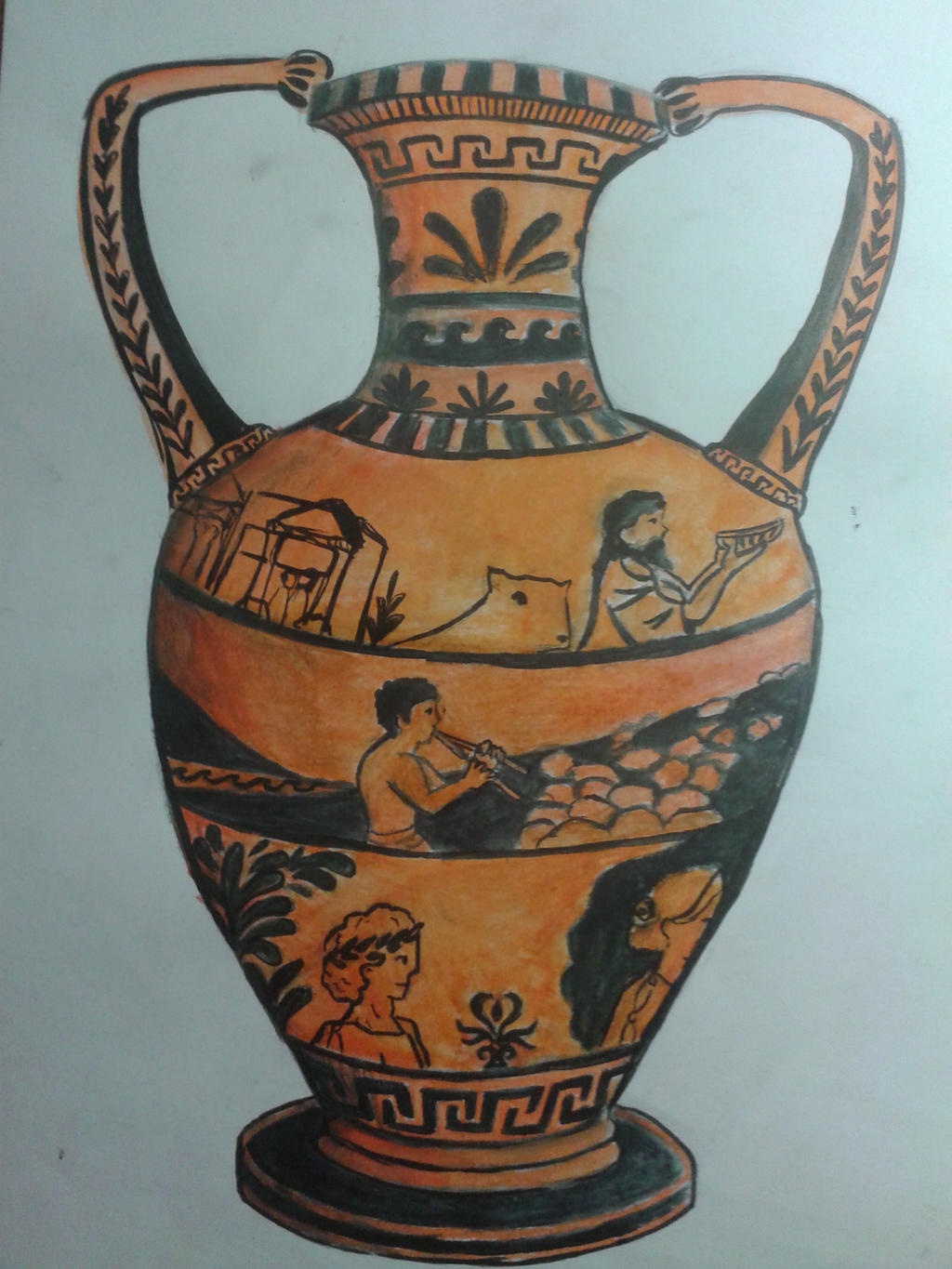 ode to a grecian urn Thou still unravish'd bride of quietness, / thou foster-child of silence and slow time, / sylvan historian, who canst thus express / a flowery tale more sweetly than.