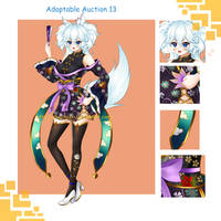 Adoptable Auction 13 (Closed) by keshi-gomu
